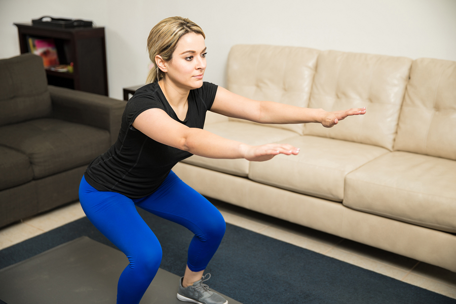 10 Easy Indoor Exercises – Don't Let The Weather Stop You In Your Tracks!