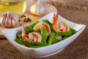 Prawns & Asparagus Recipe