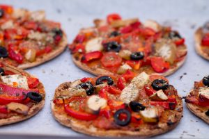 RED PEPPER HEALTHY PIZZA