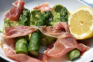 Asparagus and Parma ham