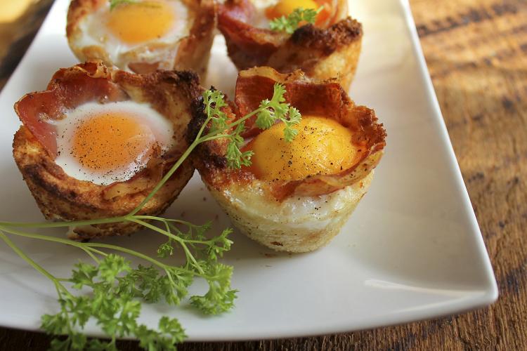 Healthy Ham & Egg Cups