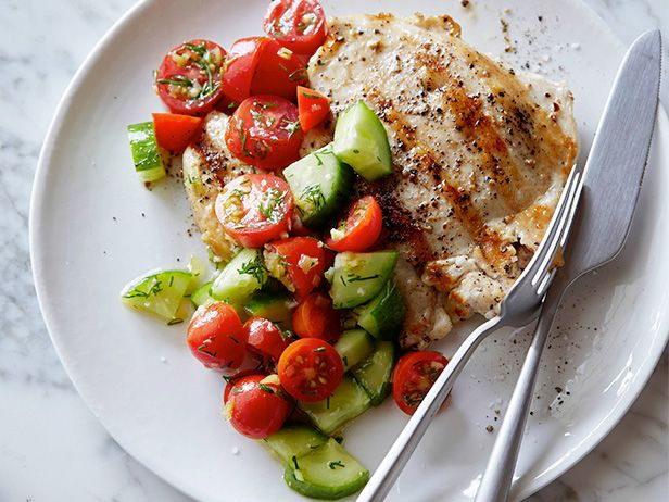 Seared Chicken with Croatian Salad
