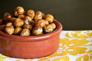 Roasted Masala Chickpeas Recipe