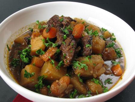 ST Patrick's Healthy Irish Stew