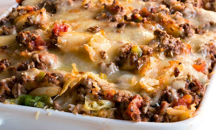 High protein low carb lasagne