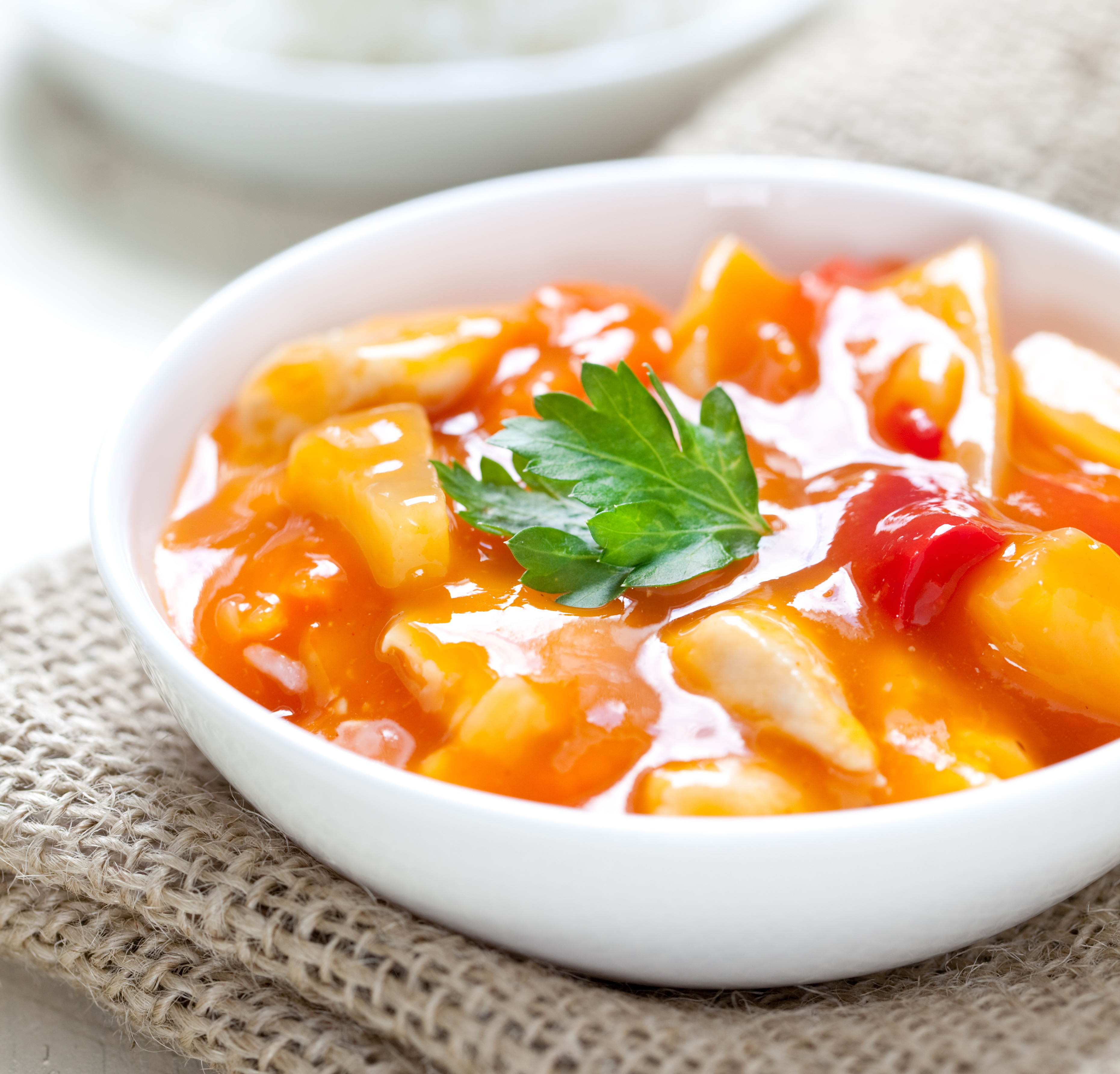 Vegan Low Sugar Sweet and Sour Tofu