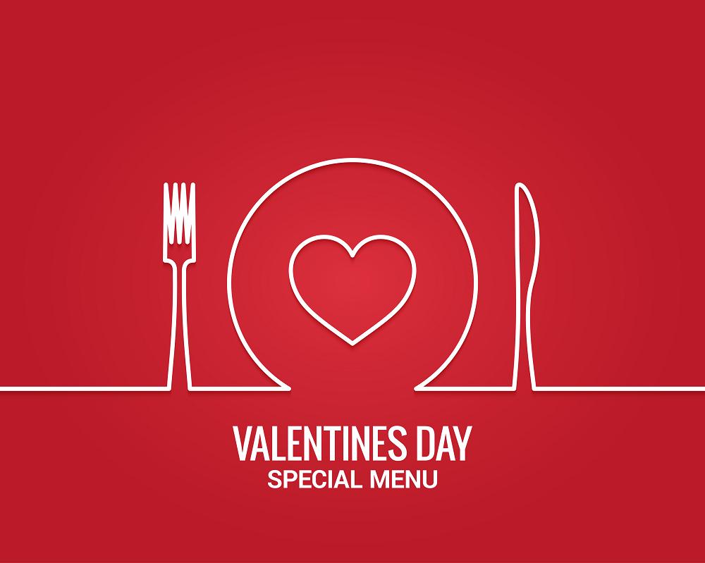 Super Speedy Romantic Valentine 3 Course Meal