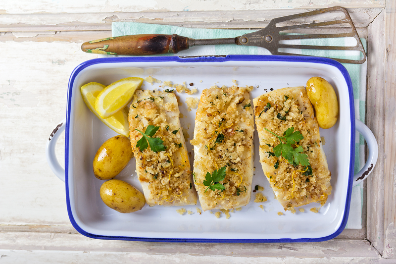 Crusted Cod Recipe Diabetes Ireland Website