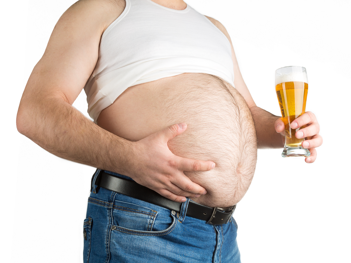 What is a beer belly