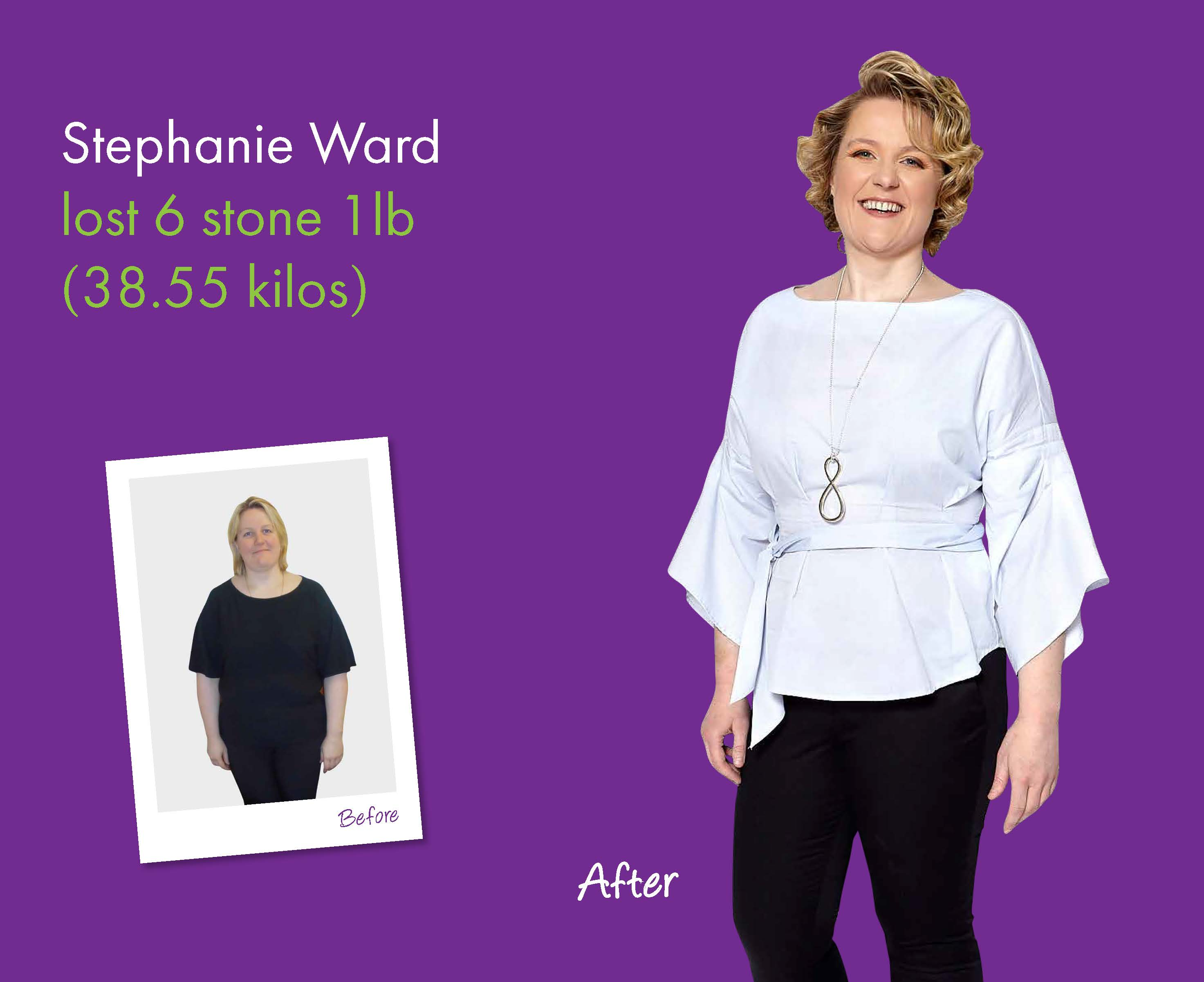 Stephanie Ward's Weight Loss Story