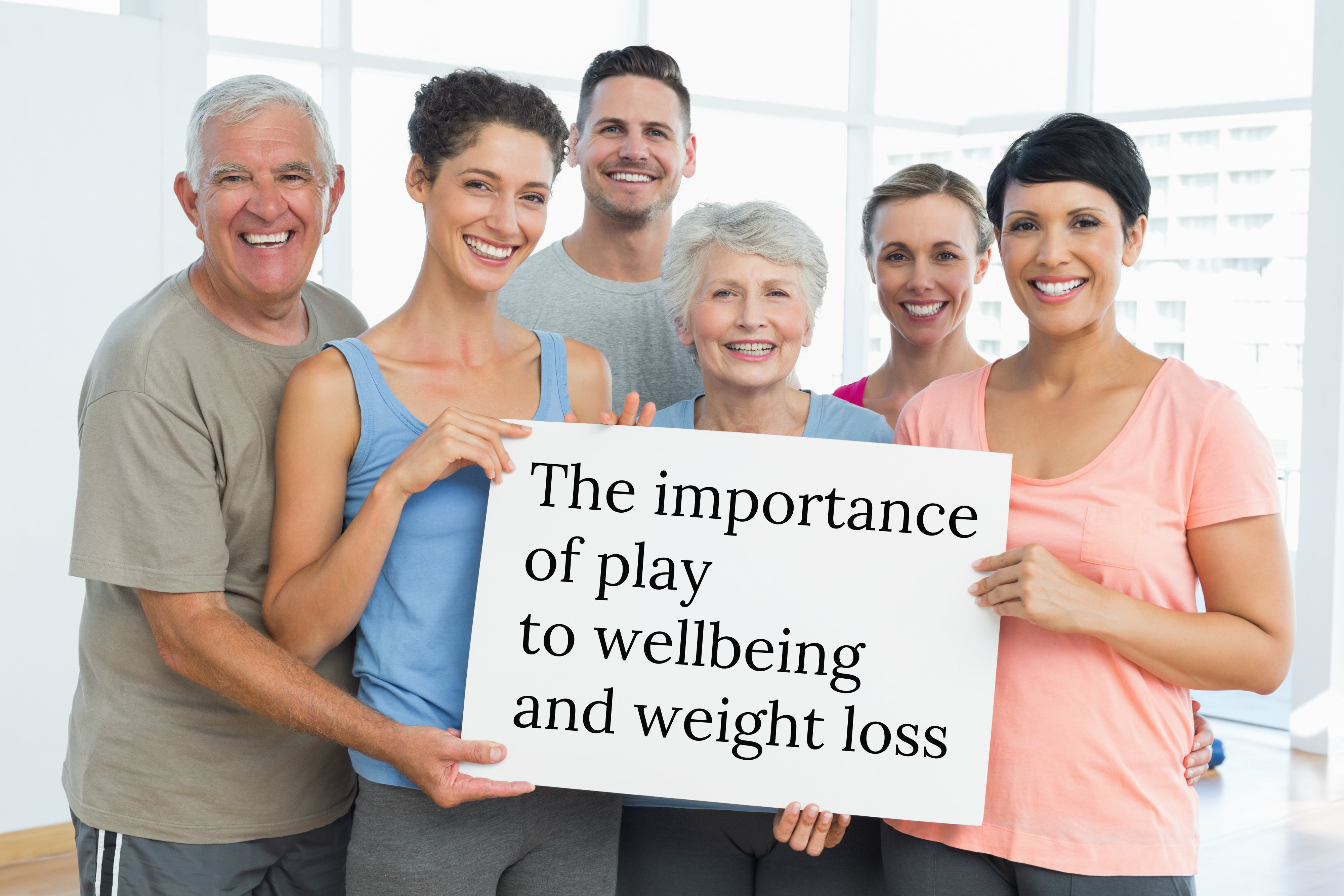 The importance of play to wellbeing and weight loss