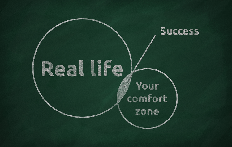 How to step outside your comfort zone to achieve weight loss