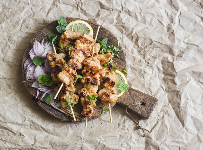 Thai Pork Kebabs