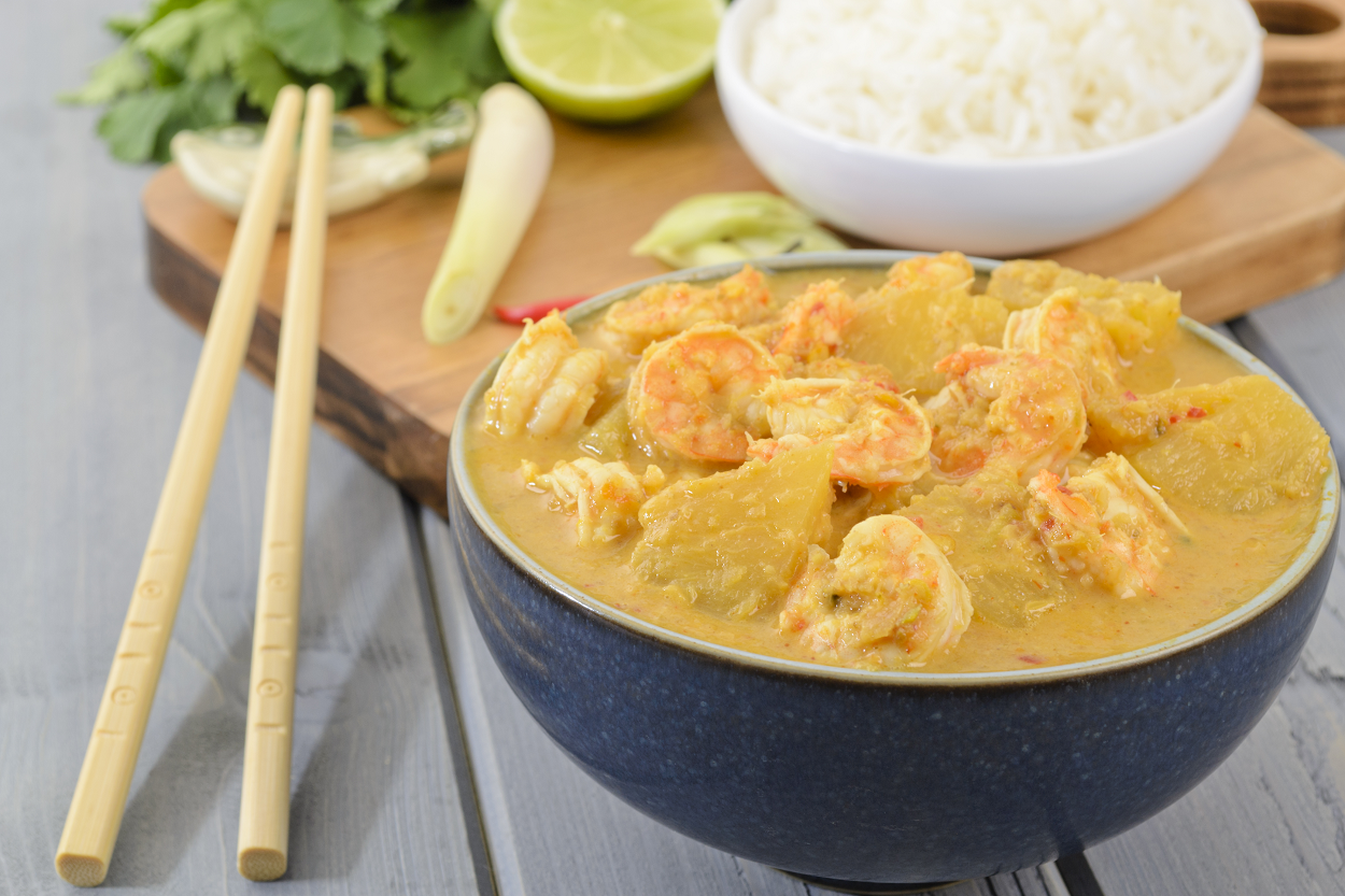Prawn and Pineapple Penang Curry