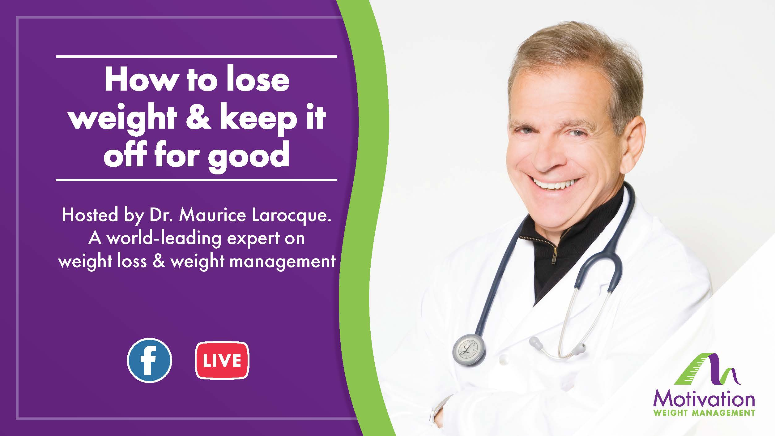 Dr. Maruice Larocque Facebook Live Q&A 27th June 2019