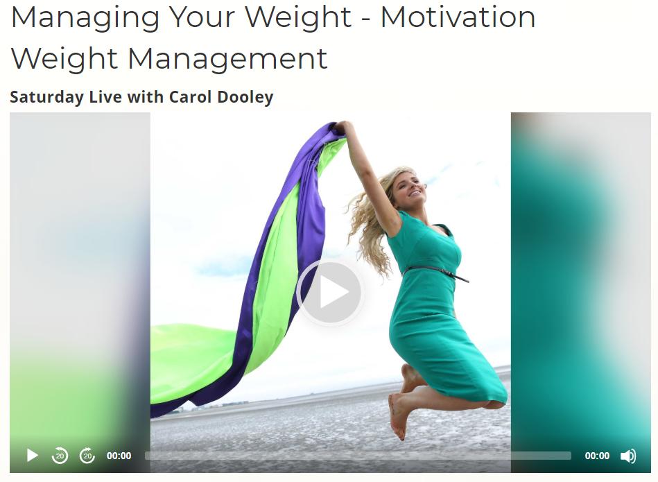 Managing Your Weight With Sunshine Radio