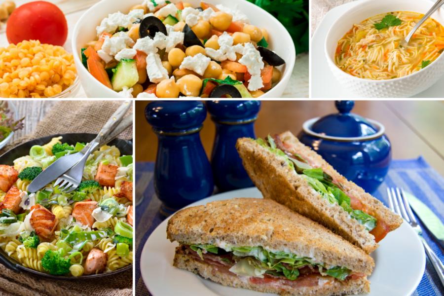 Four lunch ideas